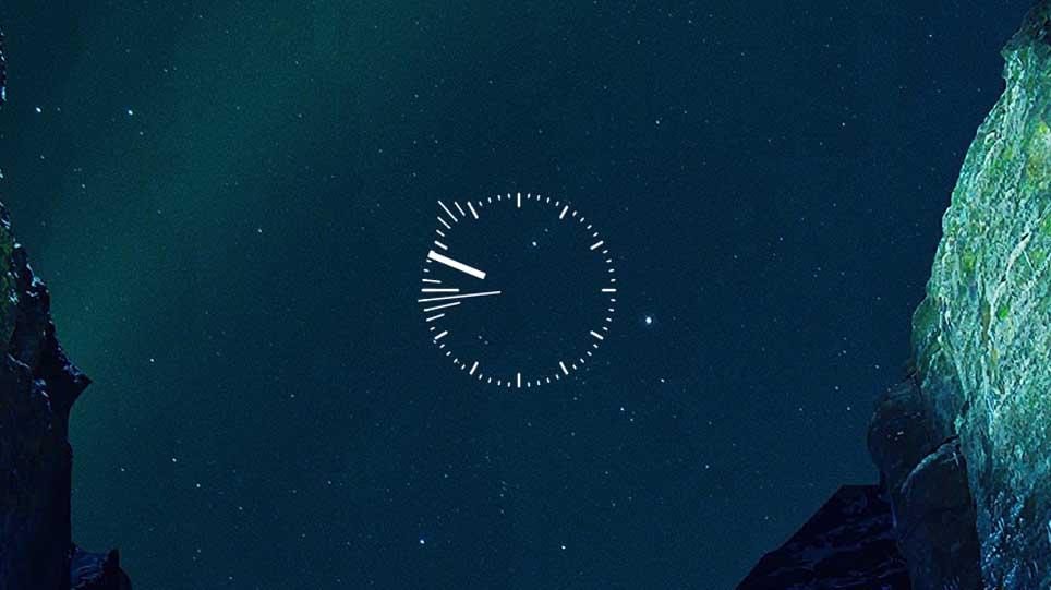 Rainmeter skin beta clock time