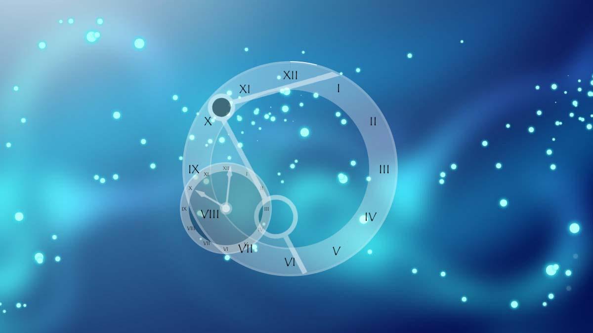 RKS Aevum Rainmeter clock skin theme