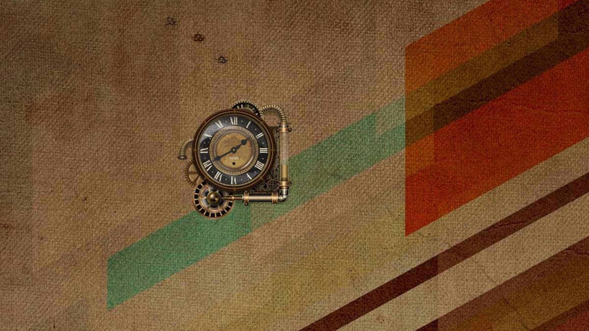 Rainmeter steam punk