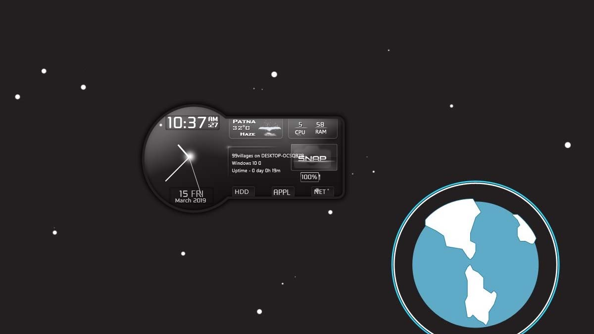 snippy ship rainmeter