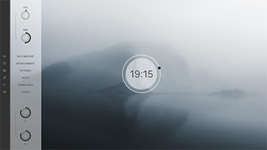 sidebar for rainmeter